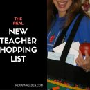 The RookieTeacherShopping List